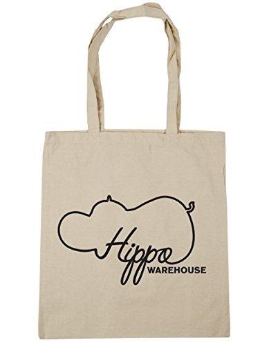 Hippowarehouse ,  Damen Strandtasche Natur