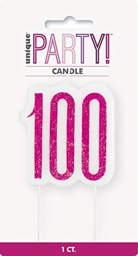Unique Party- Vela, Color pink & silver (83900)