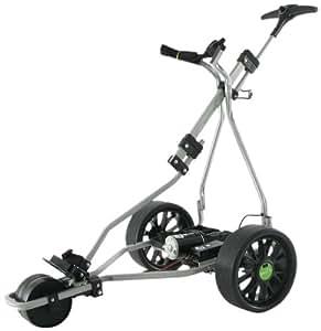 Greenhill GT Skyline 36 Hole Electric Golf Trolley - Silver