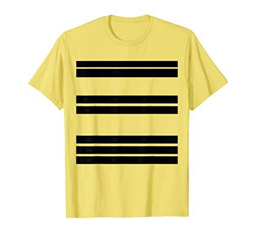 Für Einfach Kostüm Paare - Einfache Halloween-Kostüm-Ideen-Bienen-Insekten-Paare T-Shirt