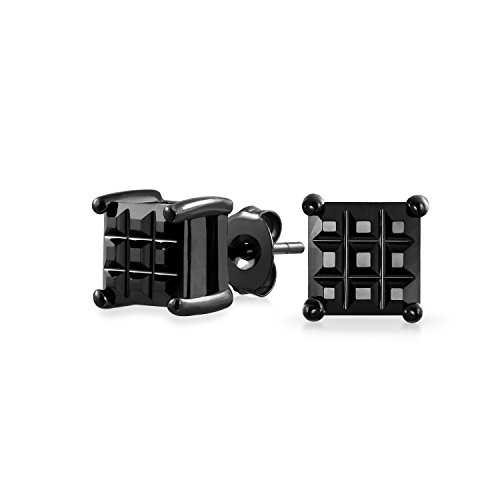 bling-jewelry-mens-925-sterling-silver-cz-basket-set-invisible-cut-black-stud-earrings