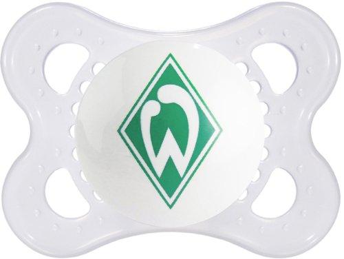 Preisvergleich Produktbild MAM 563910 - Original, Football, Bundesliga: SV Werder Bremen, 0-7 Monate, Silikon