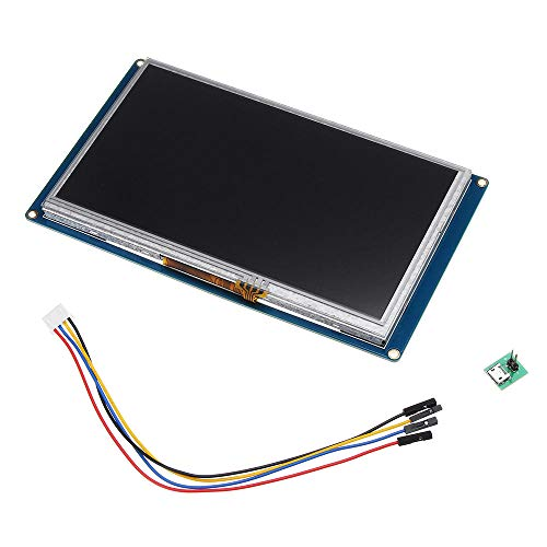 Nextion NX8048T070 7.0 Inch HMI Intelligent Smart USART UART Serial Touch TFT LCD Screen Module Display Panel For Raspberry Pi Arduino Kits Screen Panel Kit