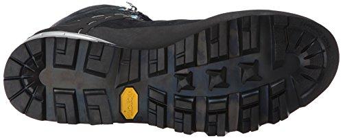 Salewa Mountain Trainer Mid, Chaussures de Randonnée Hautes Femme Noir (0790 Carbon/River Blue)