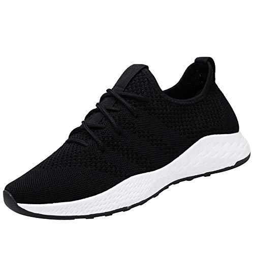 Sport Freizeit Schuhe Herren | Holeider Sneaker Laufschuhe Sportschuhe Gute Qualität Mode | Männer Turnschuhe Freizeitschuhe Atmungsaktiv Leichte Rutschfest Fitnessschuhe,