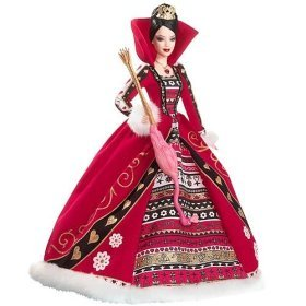 Barbie Collector # L5850 Alice in Wonderland Queen of Hearts (Alice Im Wunderland Figur Kostüme)