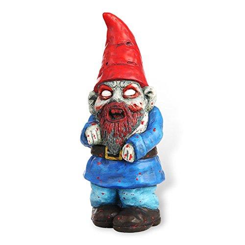 """HC-Handel 924106 Gartenzwerg """"Zombie"""" aus Terrakotta 28,5 cm"""
