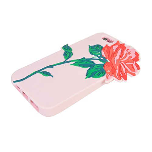 iPhone 6/ 6S (4.7 inches) Coque,COOLKE Mode 3D Style Cartoon Gel Soft silicone Coque Housse étui Case Cover Pour Apple iPhone 6/ 6S (4.7 inches) - 013 009