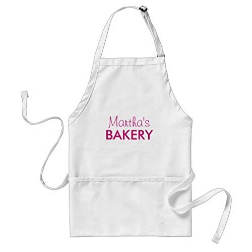 whiangfsoo personnalisée Nom de cuisson tablier pour femmes