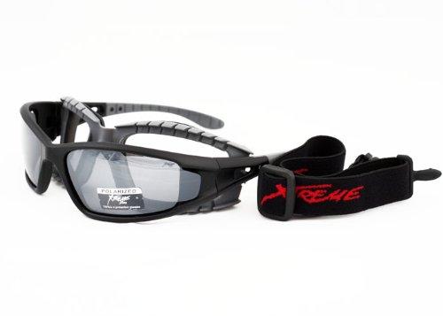 Gepolsterte Xtreme 2in1 mit Brille Sonnenbrille, polarisiert, für Kajak- und Bootsausflüge, Surfen und Kanu fahren Cycling.., Blendschutz, Gläser