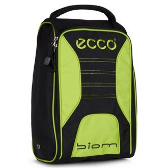 Ecco Golf Shoe Bag Black/Lime Black/Lime