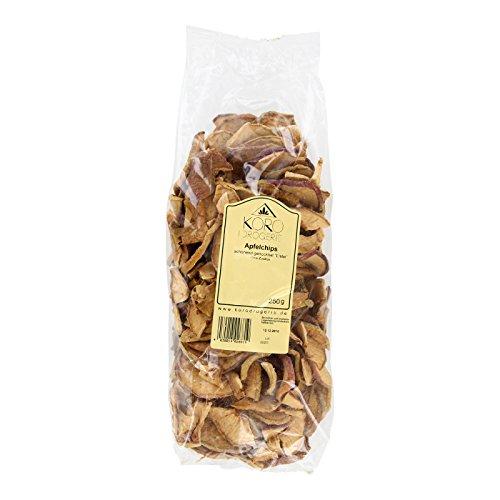 Preisvergleich Produktbild Apfelchips Trockenfrüchte Aus Deutschland / Ohne Zuckerzusatz / Ungeschwefelt / Naturbelassen / 250 g Packung / KoRo