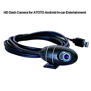 ATOTO AC-44P1 USB ON-DASH CAMERA / DVR Recorder, ONLY Compatible w/ Selected ATOTO Android Car Stereo Series(ATOTO M4 & A6 Series)