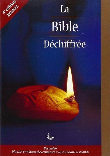 Bible déchiffrée (souple, 4 révision) par David ALEXANDER