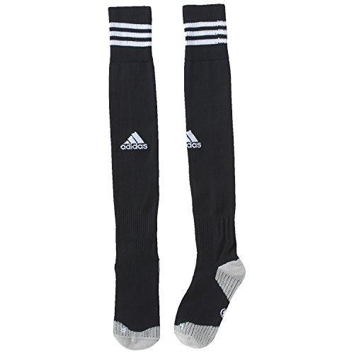 adidas Herren Fußballsocken 12, schwarz/weiß, 37-39, X20990