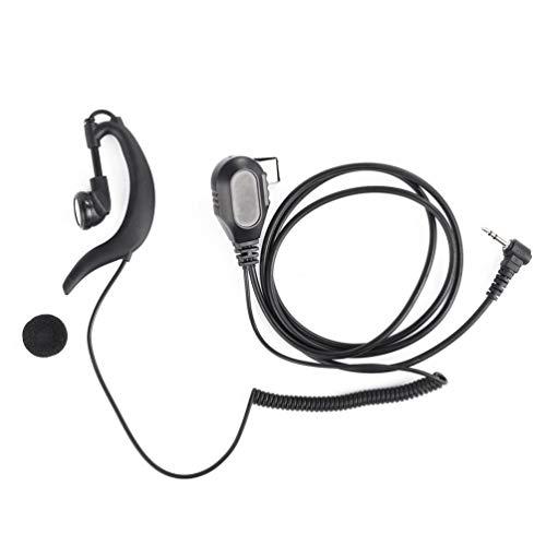 Tragbarer Ohrbügel Ohrhörer für Motorola Funk Walkie Talkie T6200C T5720 T5728 Amateurfunk Kopfhörer MIC Swivel Clip Headset