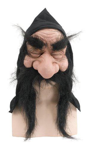 Gnome Mask With Hood And Beard Fairy Tale Elf Troll Halloween Fancy Dress by Home & Leisure Online (Fairytale Kleid Kostüm)