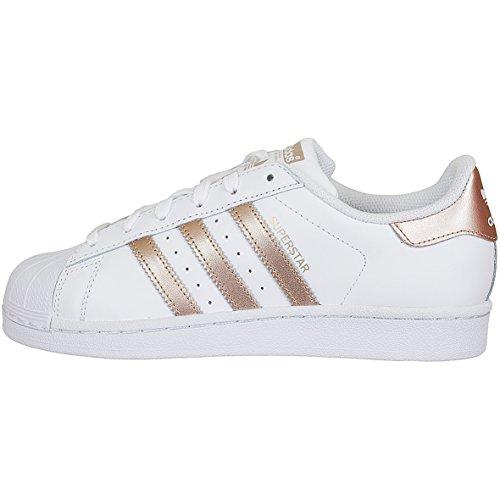 Adidas Superstar Women Sneaker Trainer BA8169 White/Gold