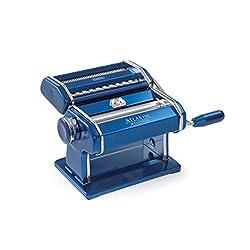 Marcato Nudelmaschine Atlas 150 Aluminium Blau