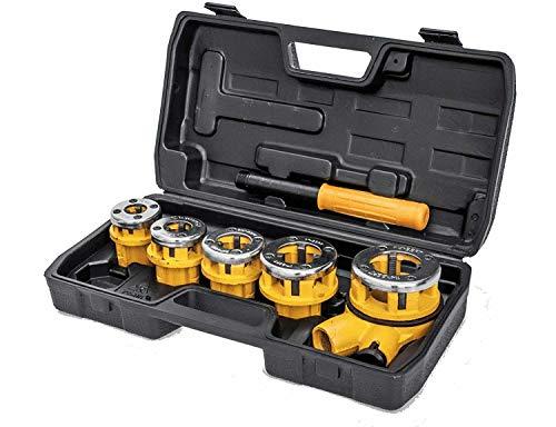 VITO Professional 3/8-1 1/4 Zoll Schneidkluppensatz 7-tlg. Schneidkluppe Gewindeschneider Rohrschneider