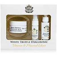 Cougar Blanco Truffel ácido hialurónico día y crema de noche, suero de aceite facial y