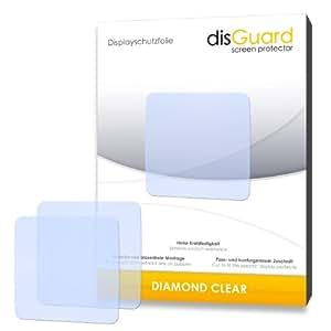 2 x disGuard Diamond Clear Film protecteur d'écran pour TomTom Runner GPS-Uhr - Qualité supérieure (limpide, revêtement dur adhésif, montage sans bulles)