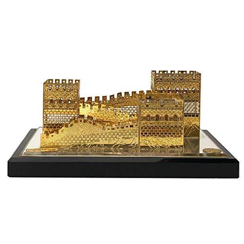 Kostüm Berühmte Charaktere - DDCYY Statue/Skulptur, Peking-Chinesische Mauer, Crystal Architectural Model, Chinas BerüHmte Marksteinarchitekturdekoration, Inneneinrichtungsskulptur, Touristische Andenken