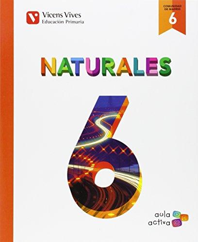 Naturales 6 Madrid (aula Activa) - 9788468228488
