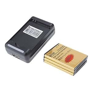 3pcs or 2450mAh Haute Capacité Batterie + Chargeur USB Cradle pour Samsung Galaxy S2 I9100