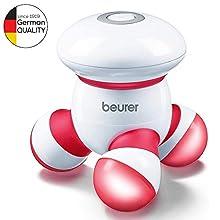 Beurer 64615 MG 16 Apparecchio Mini per Massaggi, Rosso