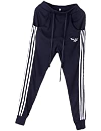 Tangda Herren Harem Hose Skinny Pants Sporthose Herbst Tanzhose Haremshose Trainingshose (Größe/Farbe wählbar)
