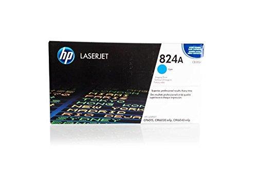 Original Bildtrommel passend für HP Color Laserjet cm 6040 X MFP HP 824A, 824AC, 824ACYAN, NO824A, NO824AC, NO824ACYAN CB385A - Premium Trommel - Cyan - 35000 Seiten