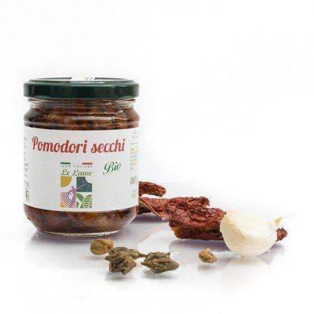 Pomodori Secchi in Olio Extravergine di Oliva Prodotto Biologico - 1 Vasetto da 180gr