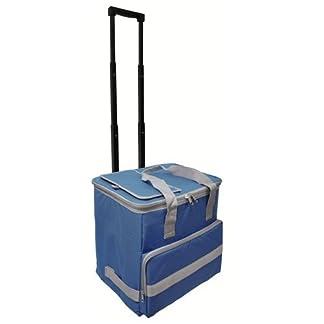 Papillon 5080126 Nevera Bolsa Termica 38 litros Azul Trolley