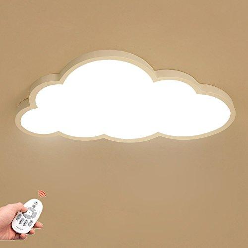 X5X5X Lámpara De Techo LED Ultrafino 5cm Nubes Creativas Luz De Techo Lámpara De Techo Lámpara De Niños Niños Y Niñas Lámpara De Dormitorio Lámpara Romántica De Techo De Animados (Color : Regulable)