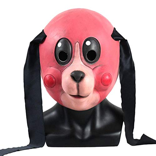 shewt Der Regenschirm Academy Hazel Cha Cha Maske Kostüm Cosplay Party Maske Halloween Cosplay Helm Kopfbedeckung Prop
