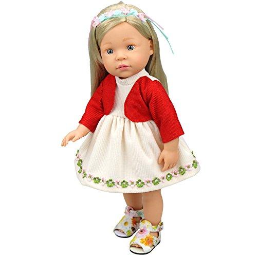 mxjeeio Kleiden Für 16 Zoll Puppe Baby Kinder Geschenke Rock Party Kleidung (16 Puppe Kleidung In)
