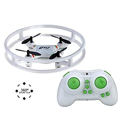 Mini Drone,NH-010 Durable Quadcopter Space Trek UFO Drones 2.4GHz 4 Axis Gyro RC Aircraft Protective with LED lightfor Kids 9-12 Years Old