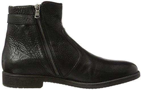 Geox Herren U Jaylon A Klassische Stiefel Schwarz (Black)