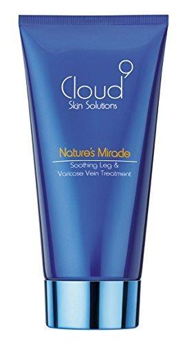 Cloud 9 Nature\'s Miracle - schnell wirkende und beruhigende Creme gegen Krampfadern - für unschöne Adern und schmerzende Beinen