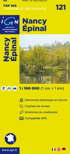 Top100121 Nancy/Epinal 1/100.000