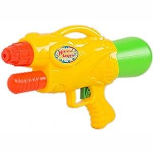 Wonder Kids Wonderkids-abc-151544-Pistola a Agua-2chorros Giratorio con 4reactivo-25cm