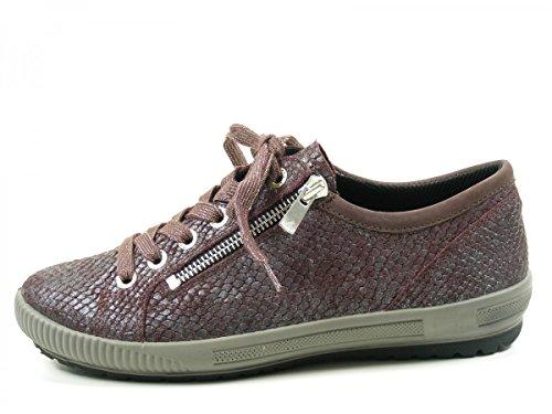 Legero 7-00818 Tanaro, Chaussures de ville à lacets pour femme Rouge