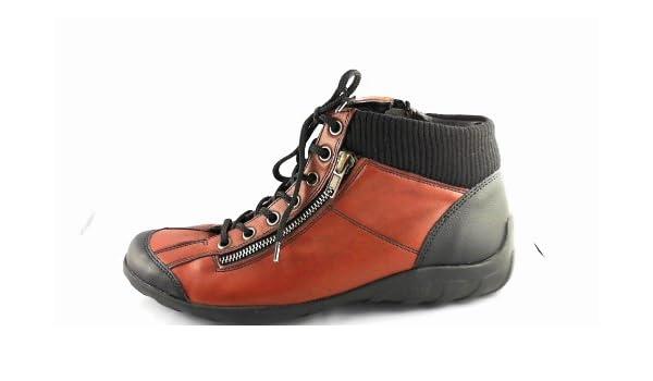 Union Lacets Schuh 37Bourgogne37 R3456 Remonte Boots Femme Eu wv80mNnO