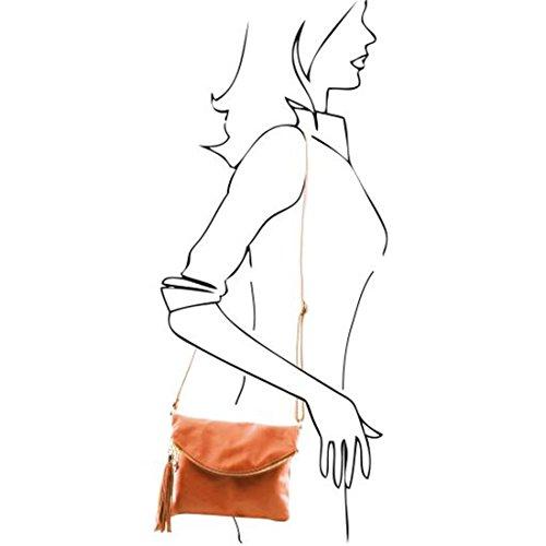 Tuscany Leather - TL Young Bag - Borsa a tracolla con nappa - TL141153 (Marrone) Marrone