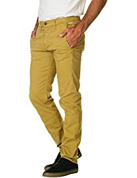 Franklin & Marshall Men's Men's Yellow Chino Pants