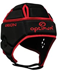 Optimum Junior Origin Headguard - Black/Red
