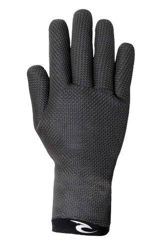 Rip Curl Dawn Patrol 3mm 5Finger Handschuh der Herren, Herren, sortiert (Handschuhe Neoprenanzug Finger)