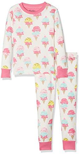 Hatley M/ädchen Organic Cotton Long Sleeve Printed Pyjama Sets Zweiteiliger Schlafanzug
