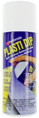 Plasti Dip 11207 Pellicola Spray Removibile, Bianco - Performix Plasti Dip